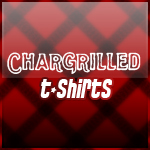 chargrilled t-shirts