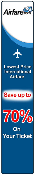 Airfare - discount flight tickets