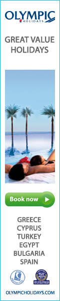 Olympic Holidays - Spain, Greece, Cyprus, Malta, Egypt, Turkey, Portugal, Gambia, Goa, Tunisia Holidays