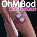 The OhMiBod vibrator is a whole new way to enjoy your iPod or any other music player. Everyone loves music. Everyone loves sex. OhMiBod combines music and pleasure to create the ultimate acsexsory to your iPod.