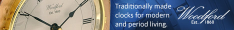Clocks - Traditionally made clocks - Woodfors Est 1860