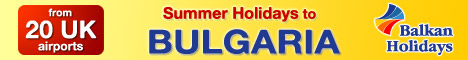 Balkan Holidays - Summer and Winter Holidays to Bulgaria