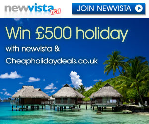Win a £500 Holiday - Enter FREE!!!