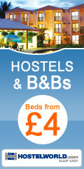 Hostels and B&Bs -  beds from £4 worldwide