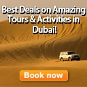 Book Amazing Tours and Activities in Dubai!