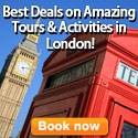 Book Amazing Tours and Activities in London!