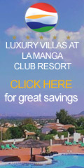 Luxury villas at Spain's La Manga Club Resort