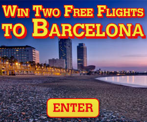 Win Flights to Barcelona