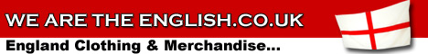 Whether you�re an England football, cricket or rugby fan or just proud to be English - on offer is the largest range of England merchandise on the web.