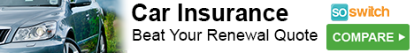 So Switch Car Insurance - Save hundreds every year on your motor insurance cover.