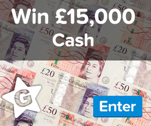 A Chance To Win £15,000 Cash