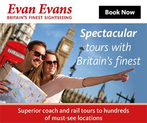 Evan Evans Tours Offers