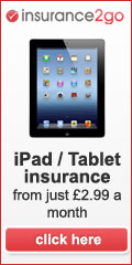 iPad and Tablet insurance
