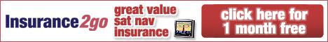 Insurance2go Sat Nav Insurance