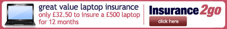 Insurance2go laptop cover