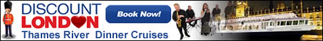 Discount London - Thames Dinner Cruises
