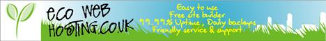 Eco Web Hosting banner