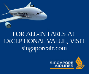 Singapore Airlines flights ex London