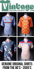 Vintagefootballshirts.com was founded in 2010. Since then the site has become one of the market leaders in online sales of rare, original, vintage football shirts