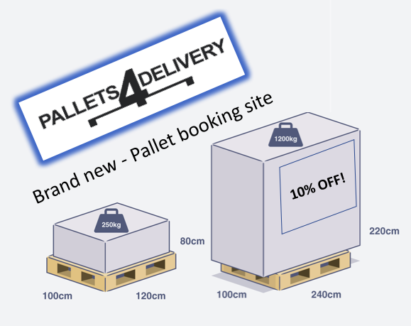 161705 Pallet delivery services | save money & time on your pallet