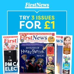 162727 Childrens newspaper | Published specially for 7–14 year olds