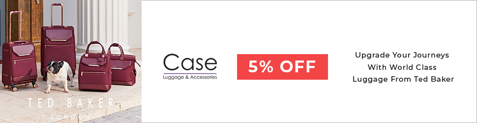 Get 5% off all case luggage