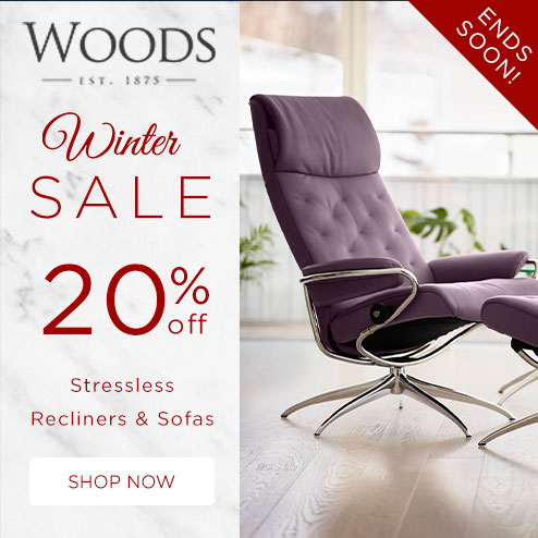woods-furniture.co.uk - Winter Sale 20% Off all Stressless Recliners & Sofas