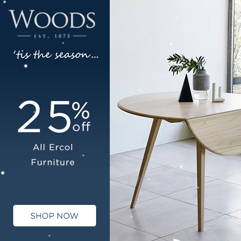 woods-furniture.co.uk - 25% Off Ercol