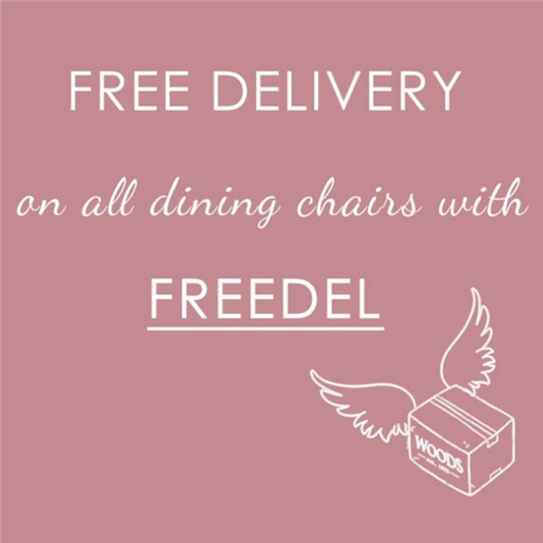 woods-furniture.co.uk - Get Free Delivery when you order dining chairs at Woods Furniture