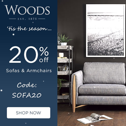 woods-furniture.co.uk - 20% Off Stocked Sofas & Armchairs for Quick Delivery