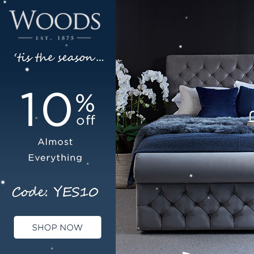 woods-furniture.co.uk - 10% Off Everything except Sofas & Armchairs
