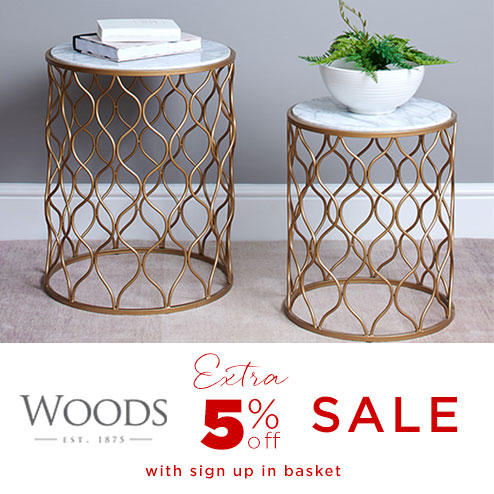 woods-furniture.co.uk - Get an EXTRA 5% OFF our winter sale prices by signing up using the pop-up in the basket.